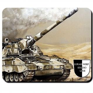 Mauspad Lukas Wirp PzH 2000 Panzerhaubitze Artillerie ISAF Panzer Kunst #23492