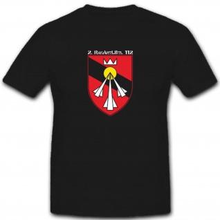 2 Rakartlbtl 112 Bundeswehr Abzeichen Wappen - T Shirt #3311