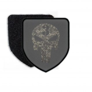 Patch Infidel Sniper Digitaltarn Skull Punisher Aufnäher Militär Soldaten #23498