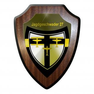 Wappenschild / Wandschild / Wappen - JG Jagdgeschwader 27 Luftwaffe #8391