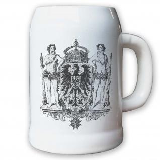 Krug / Bierkrug 0, 5l - Monarchie Herzog Adel Weimarer Republik Deutsch #9449