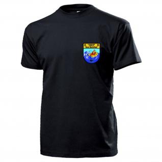 Sea Survival 3 Marineflieger Lehrgruppe Abzeichen Wappen MFG - T Shirt #17689
