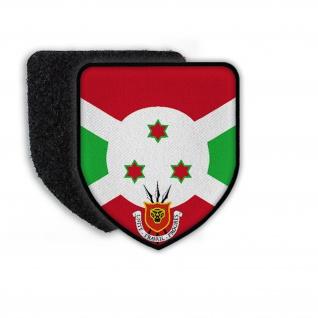 Patch Flag of Burundi Flagge Zeichen Land Staat Wappen Wappenzeichen #21333