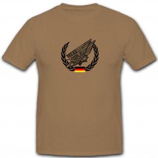 BW Fallschirmjäger Bundeswehr BW Deutschland Springer Fallschirm - Shirt #7536