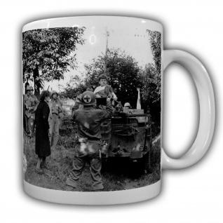 Tasse Us Sanitäter Panzer Amerika USA Military Army Normandie WW2 Fotobild#22198