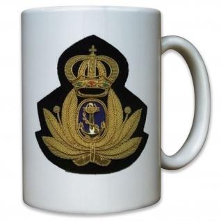Marine Abzeichen Italien Wappen Aufnäher Italienische Armee Militär Tasse #9890