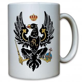 Preußen preußischer Adler Deutschland Adel Wappen Abzeichen - Tasse #11569