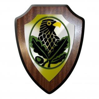 Wappenschild / Wandschild / Wappen - Scharfschütze sniper Bw #7071
