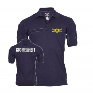 Tactical Poloshirt KP Sicherheit Adler Sicherheitsdienst Security #27224