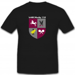 LeABCAbwKp 110 Bundeswehr Deutschland Militär Wappen Abzeichen- T Shirt #7887