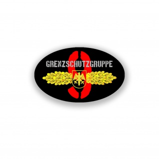 Aufkleber/Sticker Grenzschutzgruppe 9 Antiterrorreinheit BPOL 11x7cm A946