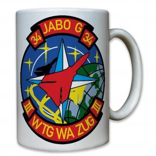 JaboG34 III Wtg Wa Zug - Bundeswehr Luftwaffe Deutschland - Tasse #8531 t