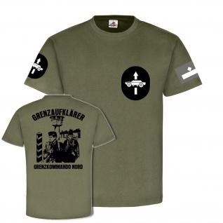 Feldwebel Grenzaufklärer kommando Nord DDR NVA soldat T Shirt #20192