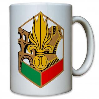 1er Régiment étranger de génie Frankreich Fremdenlegion - Tasse Kaffee #11826