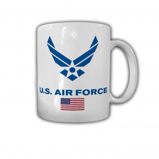 Tasse USAF United States Air Force Amerika Schwingen Flügel USA Luftwaffe #30126