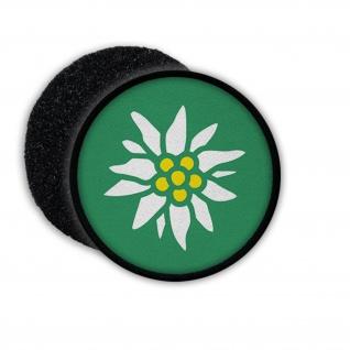 Patch Edelweiß Blume Gebirgsjäger GebJg Gams Wappen Abzeichen Emblem #22099