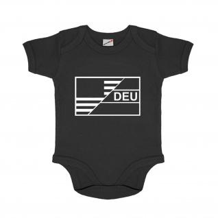 Baby Strampler USA Germany Amerika Deutschland Eltern Papa Mama #30647