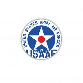 Aufkleber/Sticker USAAF United States Army Air Forces Luftwaffe 7x7cm A1664