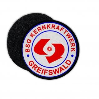 Patch DDR BSG Krenkraftwerk Greifswald Betriebssportgemeinschaft Ost 9cm #34141