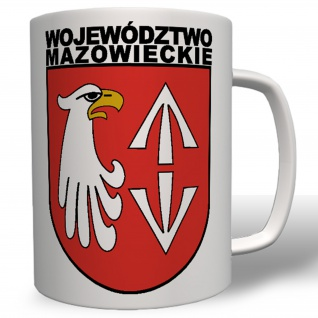 Województwo Mazowieckie Polen Armee Militär Abzeichen Wappen - Tasse #12739
