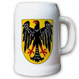 Krug / Bierkrug 0, 5l - Adler Bundesadler Wappen Bundeswappen Landeswappen#9429 K