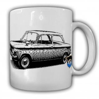 NSU Prinz 1000 TT Tasse Rennwagen Automotorsport Classicer Vintage History#23979