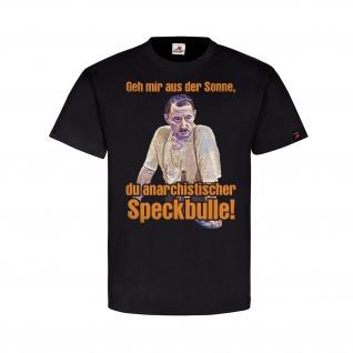 Alfred Tetzlaff vs anarchistischer Speckbulle Humor Spaß Fun T Shirt #13977