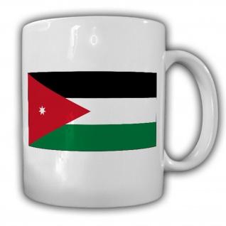 Jordanien Fahne Flagge Königreich Kaffee Becher Tasse #13527
