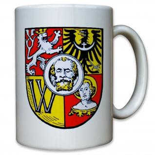 Breslau breslauer Wappen Abzeichen Emblem historisch - Tasse Kaffee #11458