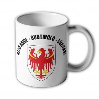 Tasse Alto Adige Sudtirolo Südtirol Italien Wappen Adler Abzeichen #34158