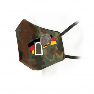 Flecktarn Maske Cyber- und Informationsraumes Attacken Bundeswehr #35944