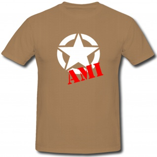 Ami USA US Americans Amerikaner United States of America US Army - T Shirt #1148