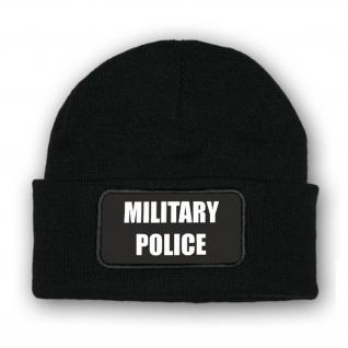 Mütze/Beenie - Military Police Militärpolizei Soldaten Einsatz Gerecht #10341 m