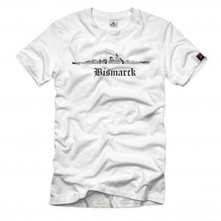 Bismarck 1 Schiff Schlachtschiff Marine Klasse - T Shirt #1624