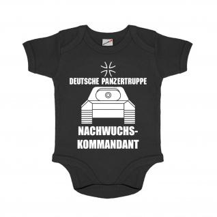 Baby Strampler Nachwuchs Kommandant Deutsche Panzertruppe Humor #30646
