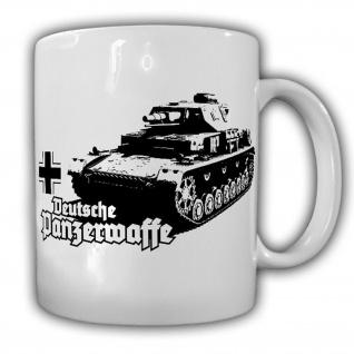Deutsche Panzerwaffe Panzer 4IV Panzertruppe Deutschland Kampfwagen Tasse #15120