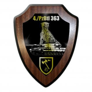 Wappenschild 4 Panzerbataillon 363 Külsheim Panzer Btl Leopard 2A4 BW #32459