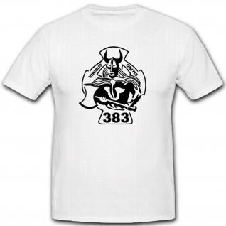 PzBtl 383 Panzer Bataillon Militär Bundeswehr Einheit Wappen T Shirt #2658