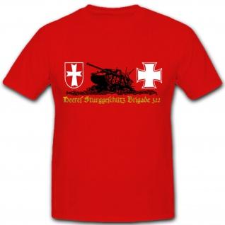 Wh Panzer Heer Wappen Abzeichen Sturmgeschütz Brigade 322 WH WK T Shirt #1450