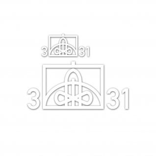 Taktische ZeichenSet 3 FlaRakBtl 31 Flugabwehrraketen 14x6, 5cm 14x31cm #A5296