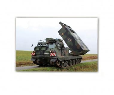 Poster M&N Pictures Mittleres Artillerieraketensystem Bundeswehr ab30x20cm#30239