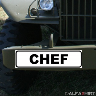 Magnetschild Chef Kompanie Offizier BW Bundeswehr Militär Fahrzeug #A331