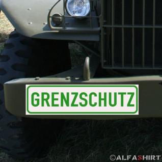 Magnetschild Grenzschutz BGS Bundesgrenzschutz Bundespolizei GSG9 #A164