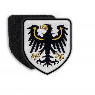 Patch Wappen von Ostpreußen Stadtwappen Tier Wappentier Aufnäher Land #21840