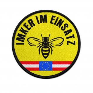 Patch Imker Österreich Einsatz Bienen Züchter Honig Aufnäher Abzeichen #36817