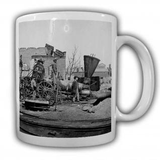 Bürgerkrieg 1861-1865 Tasse Amerika Krieg Bürger Vorderlader Kaffeebecher #22577