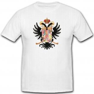 Kaiserin Maria Theresia 1765 Wappen Abzeichen Emblem - T Shirt #2285