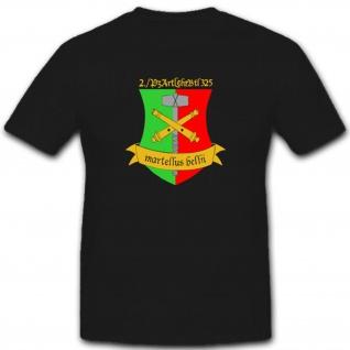 Panzer Artillerielehrbataillon Militär Bundeswehr Einsatz - T Shirt #2381