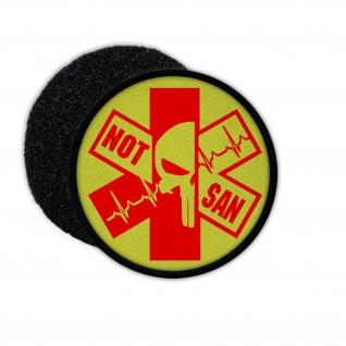 Patch NOT-SAN Medic Notfallsanitäter NotSan Rettungsdienst Sanitäter Para #32413
