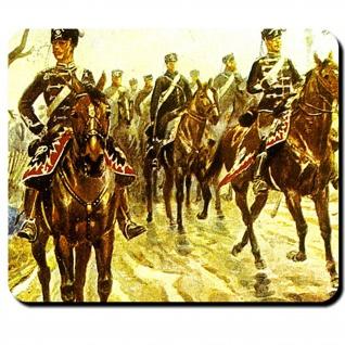 Preußische Husaren Leichte Kavallerie Preußen Schlesische Kriege Mauspad #16203